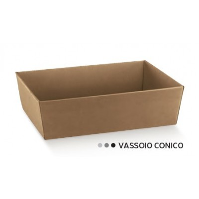 VASSOIO CONICO 170X170X80 AVANA