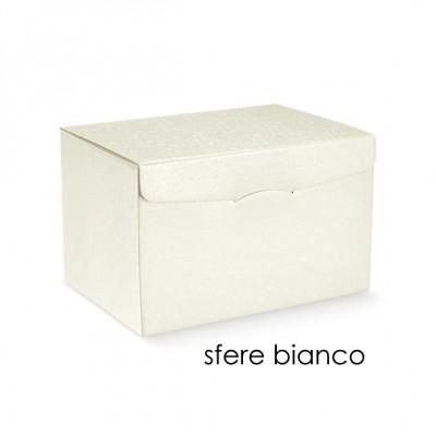 SCATOLA SEGRETO 245X245X150 SFERE BIANCHE