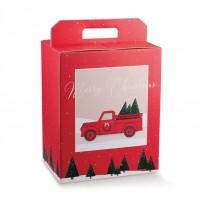 SCATOLA PAN.+BOTT. 280X200X350 RED PICKUP