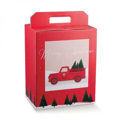 SCATOLA PAN.+BOTT. 305X225X350 RED PICKUP