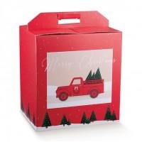 SCATOLA PAN.+BOTT. 330X250X350 RED PICKUP